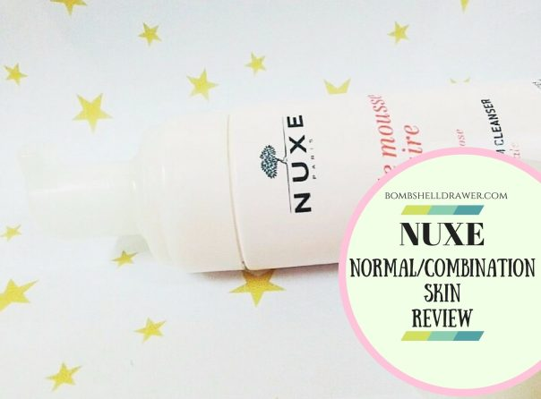 NUXE Normal%2FCombinationSKINReview